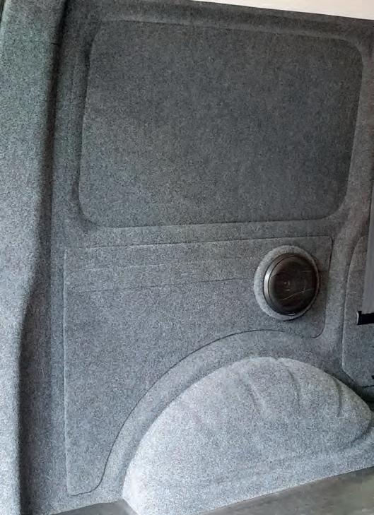 X-Trem® Stretch Carpet Filz Easy-Trim, Naadvilt gemakkelijk te