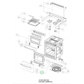 Dometic / Smev 401 oven door