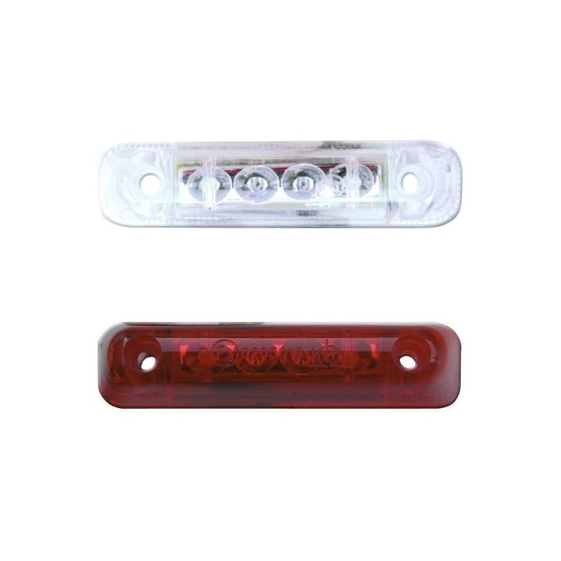 JOKON LED-achtermarkering lamp rood, 12 Volt, 0,4 Watt
