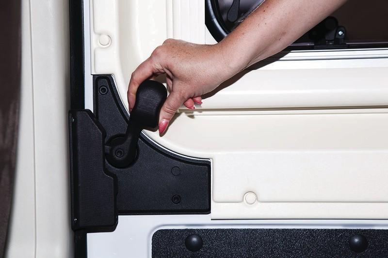 Heosafe Van Security slot voor vergrendeling schuifdeur aan