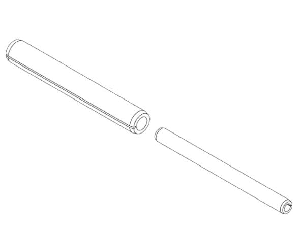 Project-2000 breek pennen voor dubbele opstap
