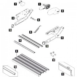 Thule Step V10 parts
