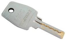 HSC Cilinder Verwijder sleutel